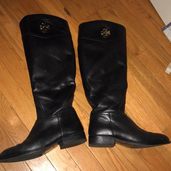 d9b15505b355 Tory Burch  Ashlynn  Wide Calf Riding Boot. M 5c183abdaa5719e61c17bca5
